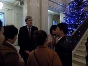 Director of Education Huran Provence China meets Minister of Education NI John O' Dowd
