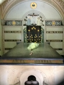 O'Connell's crypt