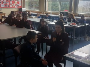 Working with St Mary's High School Pupils